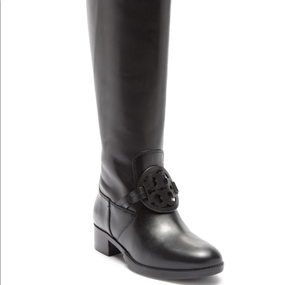 abc1f30c7daf3 Tory Burch Miller Pull-In Knee High Leather Boots